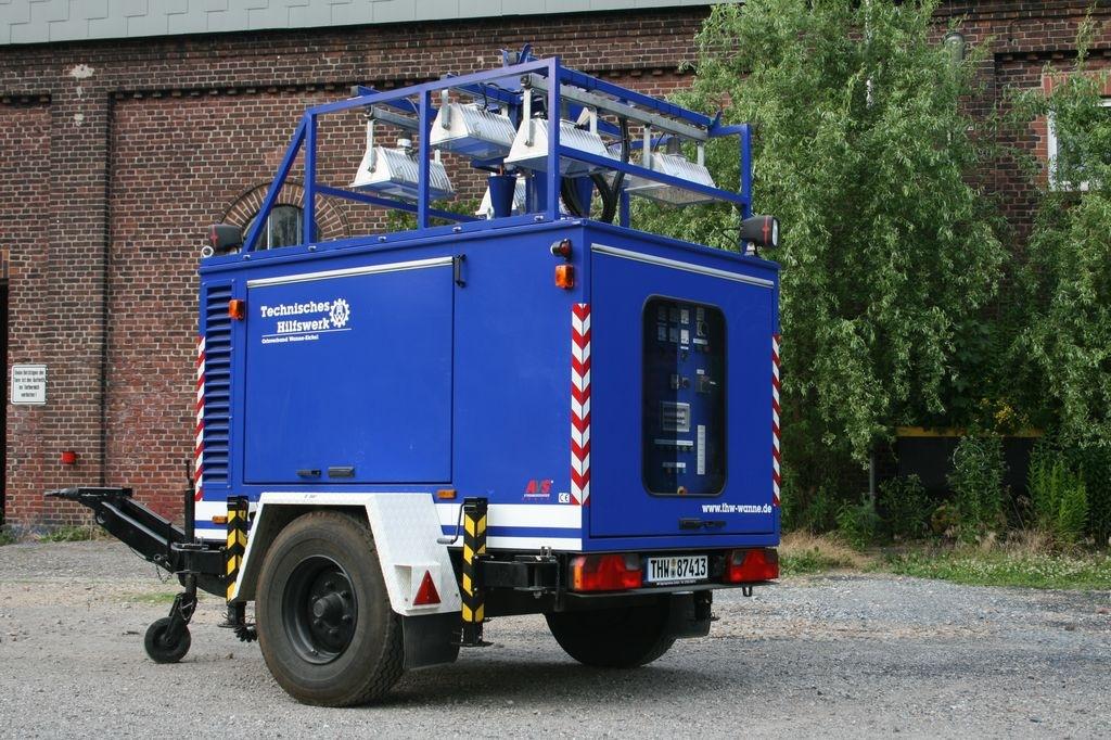 THW OV Wanne-Eickel: Fahrzeug und Ausstattung